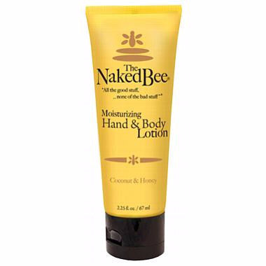 Naked Bee Hand & Body Lotion 2.25 Oz. -  Coconut & Honey