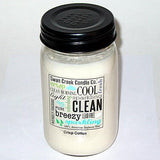Swan Creek 100% Soy 24 Oz. Jar Candle - Crisp Cotton