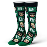 Cool Socks Men's Crew Socks - Breaking Bad