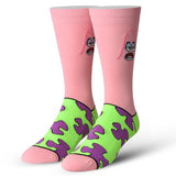 Cool Socks Men's Crew Socks - Patrick Starfish