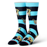 Cool Socks Men's Crew Socks - Squarepants