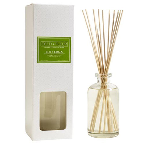 Hillhouse Naturals Reed Diffuser 6 Oz. - Cut Grass