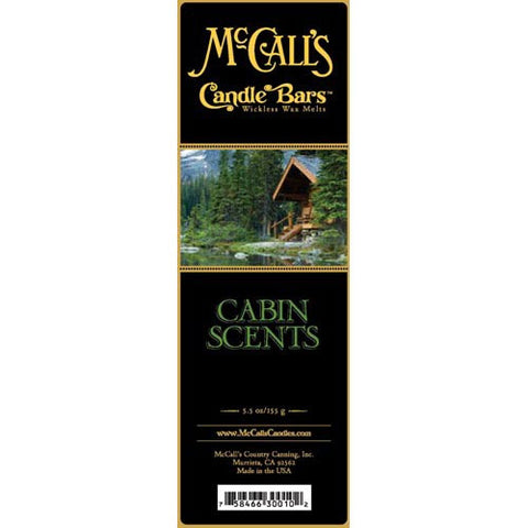 McCall's Candles Candle Bar 5.5 oz. - Cabin Scents