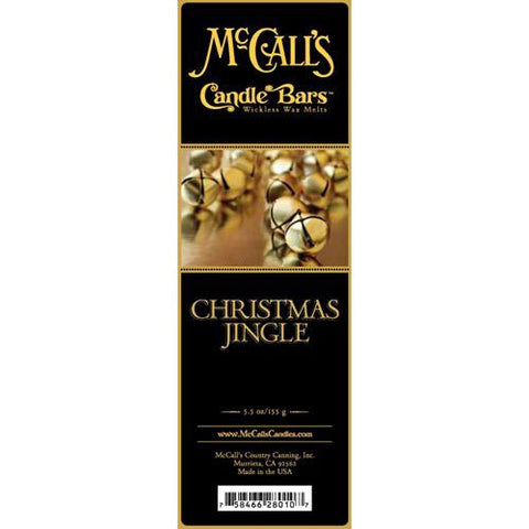 McCall's Candles Candle Bar 5.5 oz. - Christmas Jingle