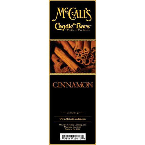 McCall's Candles Candle Bar 5.5 oz. - Cinnamon