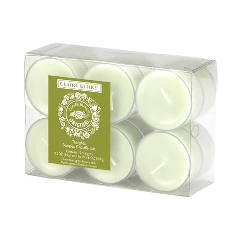 Claire Burke Tealights 12 Pack - Original
