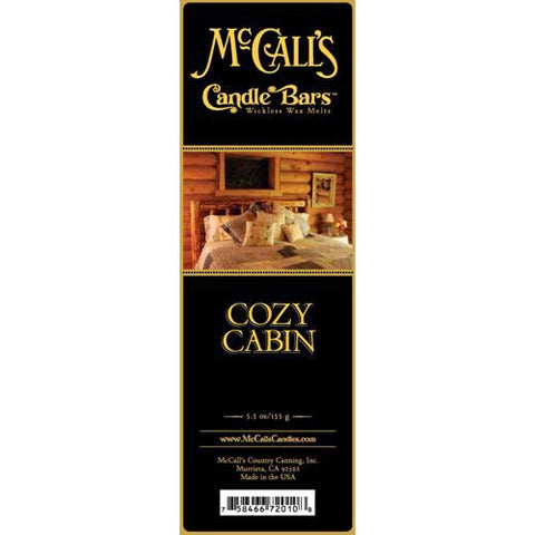 McCall's Candles Candle Bar 5.5 oz. - Cozy Cabin
