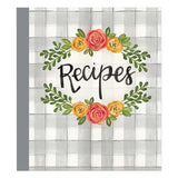 Brownlow Gifts Recipe Binder - Floral