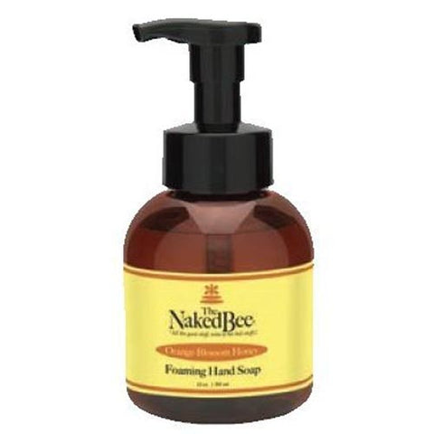 Naked Bee Foaming Hand Soap 12 Oz. - Orange Blossom Honey