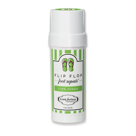 PureFactory Naturals Flip Flop Foot Repair 2 Oz. - Lime Sugar