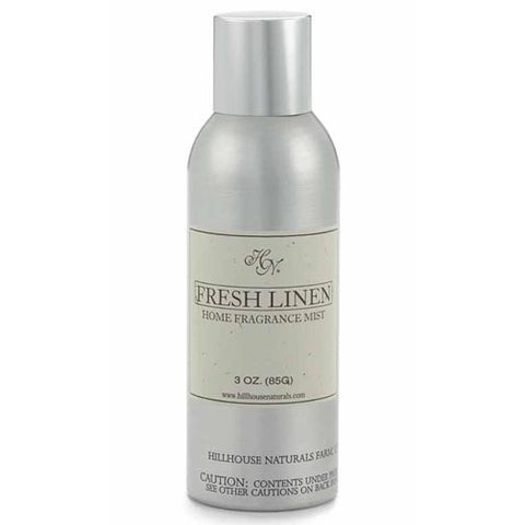 Hillhouse Naturals Fragrance Mist 3 Oz. - Fresh Linen Box of 6