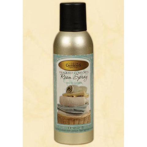 Crossroads Room Spray 6 Oz. - Fresh Linen