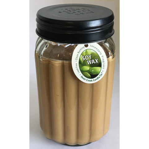 Swan Creek 100% Soy Homespun 24 Oz. Jar Candle - Gingerbread