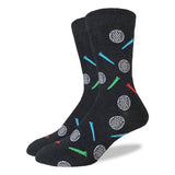 Good Luck Sock Men's Crew Socks - Golfing