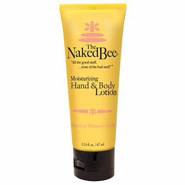 Naked Bee Hand & Body Lotion 2.25 Oz. - Grapefruit Blossom Honey