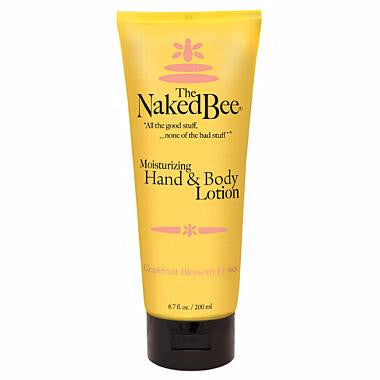 Naked Bee Hand & Body Lotion 6.7 Oz. - Grapefruit Blossom Honey