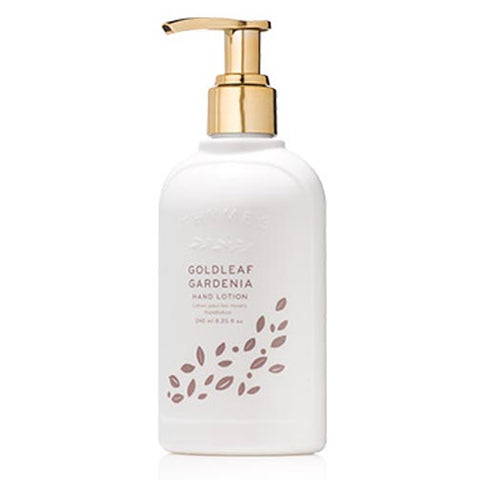 Thymes Hand Lotion 8.25 Oz. - Goldleaf Gardenia