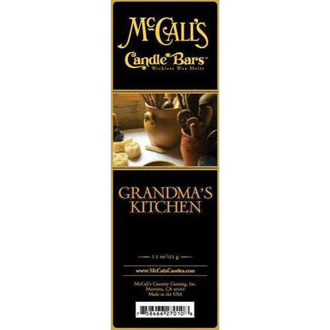McCall's Candles Candle Bar 5.5 oz. - Grandma's Kitchen