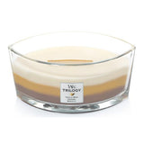 Woodwick Trilogy Hearthwick Flame 16 Oz. Candle - Cafe Sweets