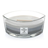 Woodwick Trilogy Hearthwick Flame 16 Oz. Candle - Warm Woods