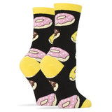 Oooh Yeah! Socks Women's Crew Socks - Donut Magic