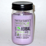 Swan Creek 100% Soy 24 Oz. Jar Candle - Lavender & Lemongrass