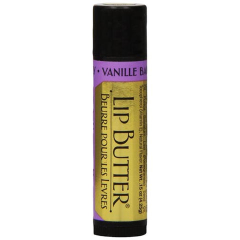 Honey House Naturals Lip Butter Tube 0.15 Oz. - Vanilla Berry Set of 6