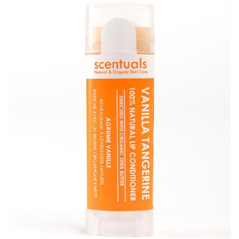 Scentuals 100% Natural Lip Conditioner 5g - Vanilla Tangerine