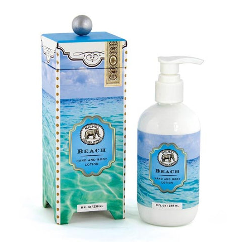 Michel Design Works Hand & Body Lotion 8 Oz. - Beach