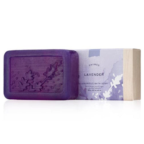 Thymes Luxurious Bath Soap 6.8 Oz. - Lavender