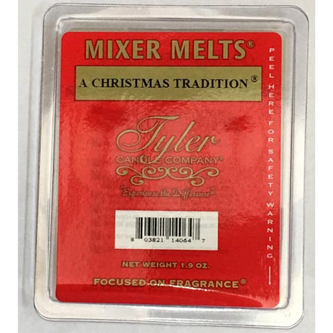 Tyler Candle Mixer Melts Set of 4 - A Christmas Tradition