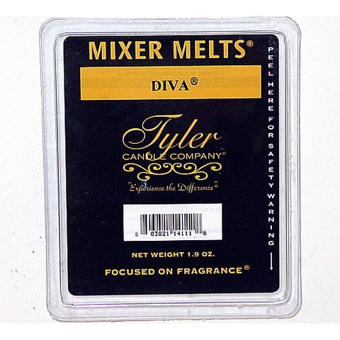 Tyler Candle Mixer Melts Box of 14 - Diva