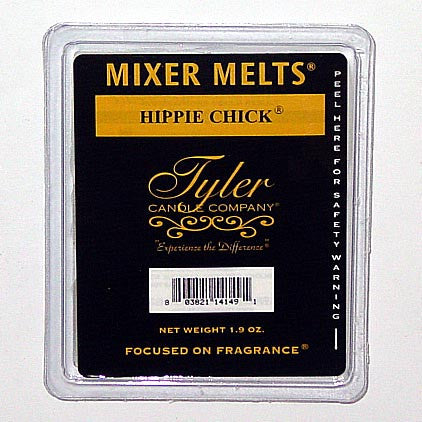 Tyler Candle Mixer Melts Box of 14 - Hippie Chick