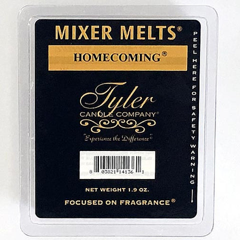 Tyler Candle Mixer Melts Set of 4 - Homecoming