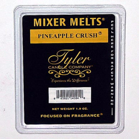 Tyler Candle Mixer Melts Set of 4 - Pineapple Crush