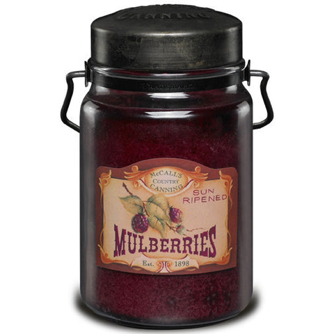 McCall's Candles - 26 Oz. Mulberry