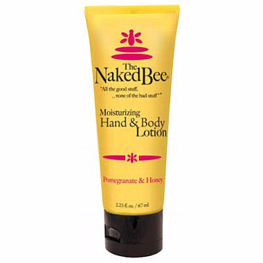 Naked Bee Hand & Body Lotion 2.25 Oz. - Pomegranate & Honey