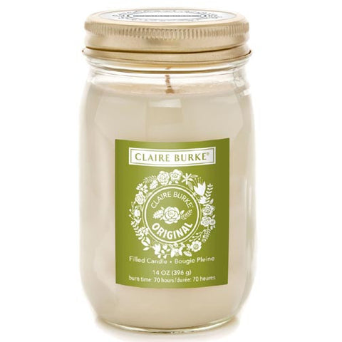 Claire Burke Filled Candle 14 Oz - Original