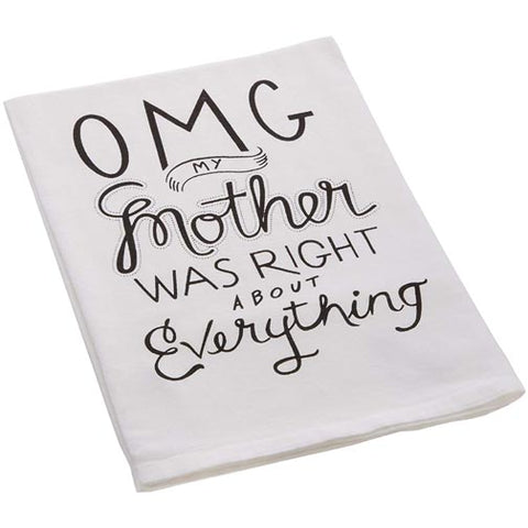 Primitives by Kathy Dish Towel - OMG My Mother Was Right