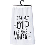 Primitives by Kathy Dish Towel - I'm Vintage