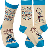Primitives by Kathy Socks - Yoga Class