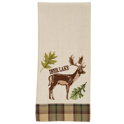 Park Designs Dishtowel - Sequoia Deer Lake