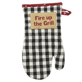 Park Designs Oven Mitt - Fire Up the Grill