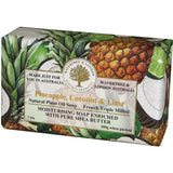 Australian Soapworks Wavertree & London 200g Soap - Pineapple, Coconut & Lime