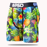 PSD Underwear Boxer Briefs - Tropical Pineapple