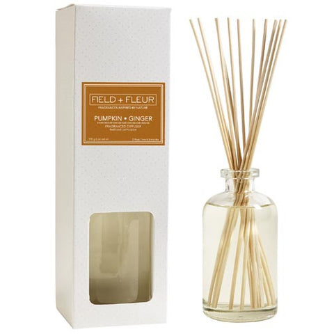 Hillhouse Naturals Reed Diffuser 6 Oz. - Pumpkin Ginger