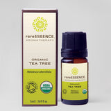 RareEssence Aromatherapy 100% Pure Essential Oil 5 ml - Organic Tea Tree
