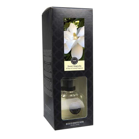 Bridgewater Candle Petite Decorative Reed Diffuser 4 Oz. - Sweet Magnolia