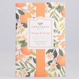 Greenleaf Large Scented Envelope Sachet Pack of 6 - Orange & Honey