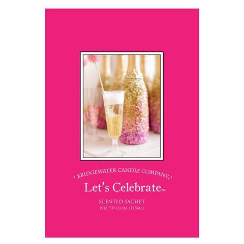 Bridgewater Large Scented Envelope Sachet Pack of 6 - Let's Celebrate